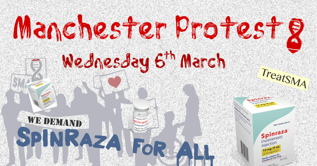Support For The 6th March SMA Vigil