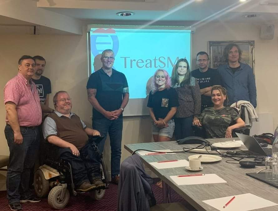 Team TreatSMA Meet To Discuss Ongoing Access To Treatment