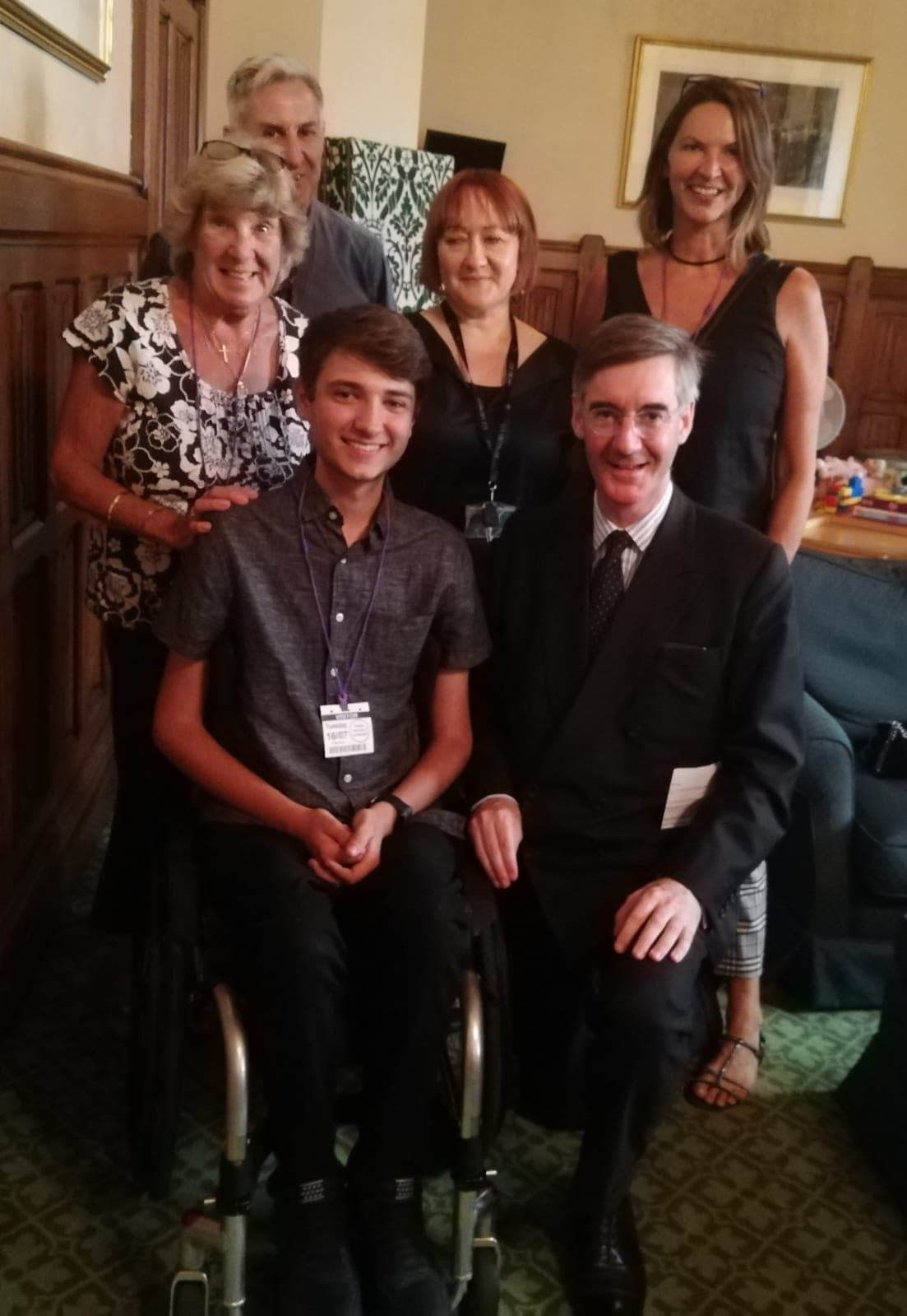 Jake And TreatSMA Take Campaign To The Houses Of Parliament