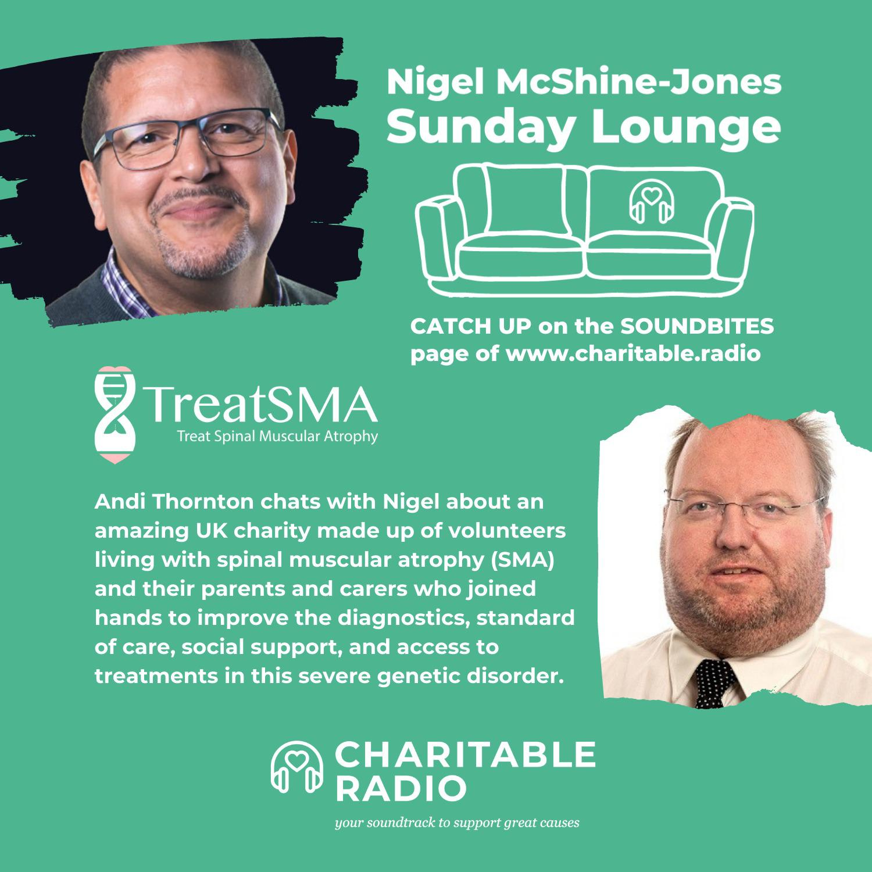 TreatSMA Featured On Charitable.radio